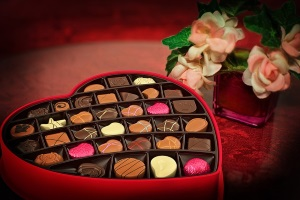 valentines day chocolate box gift